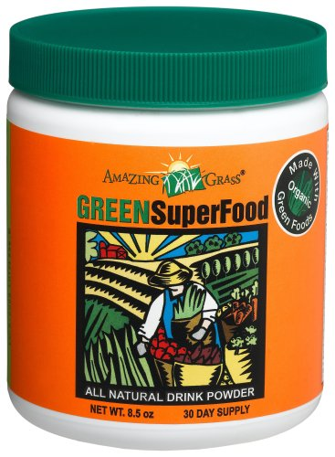 Amazing Grass All Natural Drink Powder, Green 