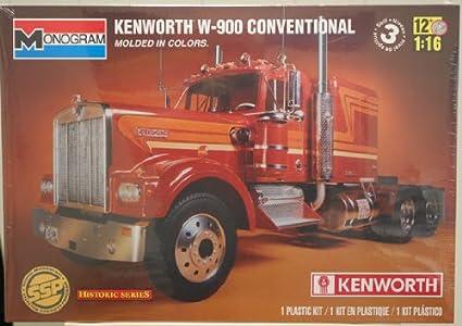 Revell Monogram 1:16 - Kenworth W-900 Conventional Truck - RVM2501