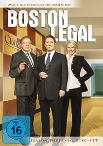 Boston Legal - Season 3 (6 DVDs)
