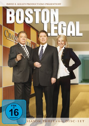 Boston Legal - Season 3 (6 DVDs), DVD