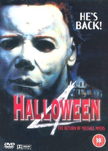 Halloween IV: The Return of Michael Myers [DVD] [1989]