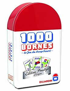 Dujardin - 59055 - Jeu de société - Grands Classiques - 1000 Bornes Edition Prestige