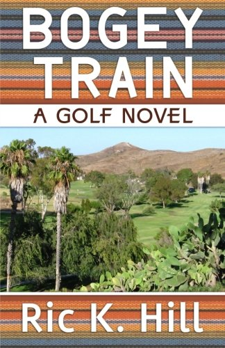 Print - Bogey Train by Ric K. Hill