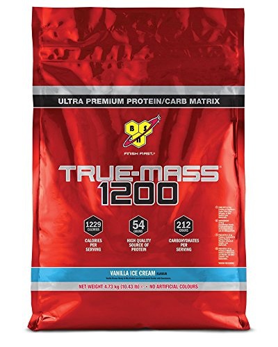 BSN Supplemento Nutrizionale True Mass 1200 Vanilla 15 Servings - 4800 gr