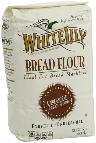 White Lily Bread Flour, 5 Pound