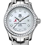 TAG HEUER watch:University of Alabama TAG Heuer Watch - Women's Link with Diamond Bezel at M.LaHart