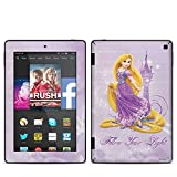 Rapunzel Design Protective Decal Skin Sticker for Amazon Kindle Fire HD 7 inch 2014 (Matte Satin)