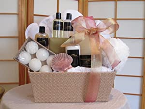 Selona At-Home Spa Gift Basket