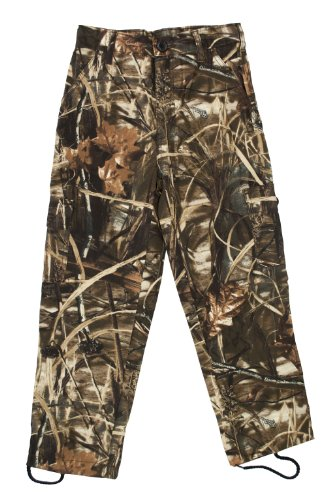 Bell Ranger Youth 6 Pocket Camouflage Pants - Realtree Max 4 - Size 14