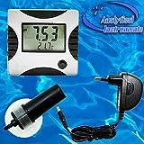 2-in-1 Multimeter Messgerät Meter Tester Prüfer (PH & Temperatur) Aquarium Teich Pool P09 -