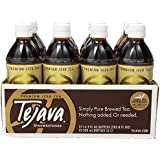 Tejava 100% All Natural Unsweetened Iced Tea, 16.9 Fluid Ounce (Pack of 12)