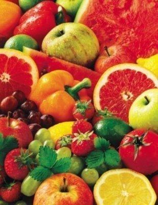 Cheap Springbok Colorful Fruit 500 Piece Jigsaw Puzzle (B004NW54YI)