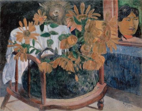 The Perfect Effect Canvas Of Oil Painting 'Sunflowers,1901 By Paul Gauguin' ,size: 10x13 Inch / 25x32 Cm ,this Vivid Art Decorative Canvas Prints Is Fit For Nursery Decoration And Home Decoration And Gifts