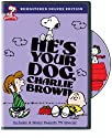 He's Your Dog Charlie Brown (Full) (Remasterizado Deluxe) [DVD]<br>$348.00