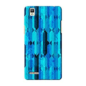 ArtzFolio Blue Crystal : Oppo F1 Matte Polycarbonate ORIGINAL BRANDED Mobile Cell Phone Protective BACK CASE COVER Protector : BEST DESIGNER Hard Shockproof Scratch-Proof Accessories