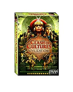 Amazon.com: Clash of Cultures Civilizations Board Game: Toys & Games