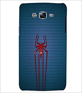 PrintDhaba Spider D-1755 Back Case Cover for SAMSUNG GALAXY J7 (Multi-Coloured)