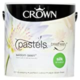 Crown Breatheasy Emulsion Paint - Silk - Seldom Seen - 2.5L