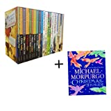 Michael Morpurgo Michael Morpurgo Collection 21 Books Set Pack(Michael Morpurgo Christmas Stories,Shadow,Private Peaceful,A Medal of Leroy,Little Manfred,Farm Boy,An Elephant in the Garden,Alone on a Wide Wide Sea,Running Wild,Born to Run,...)