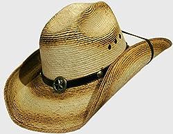 BULL-SKULL HATS, PALM LEAF COWBOY HAT, INFANTS 604