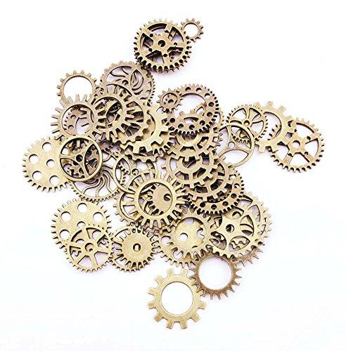 windechoo-steampunk-ingranaggi-charms-gioielli-risultati-confezione-da-72-bronzo