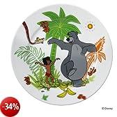 """WMF 6045321290, Piatto, design; """"Libro della giungla"""", Multicolore (Mehrfarbig)"""