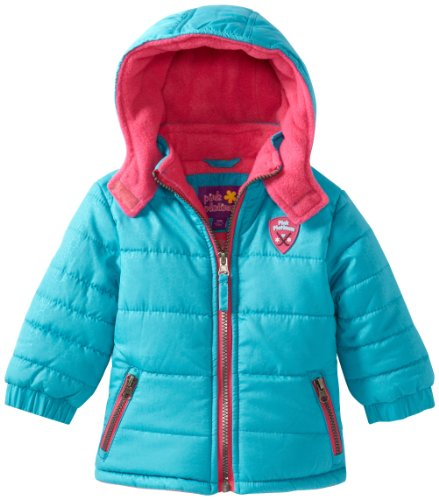 Comparamus Pink Platinum Baby Girls 39 Contrast Zipper