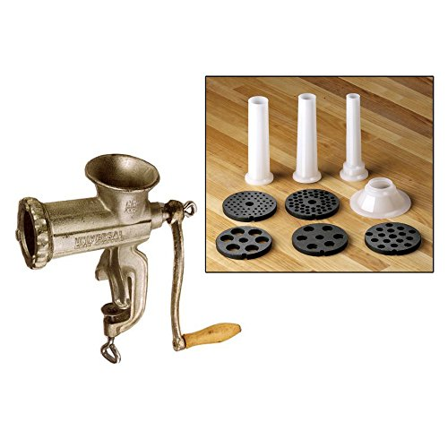 Universal Housewares Meat Chopper with Gourmet Kit