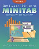 The Student Edition of Minitab for Windows 95 and Windows Nt (0201397110) by McKenzie, John