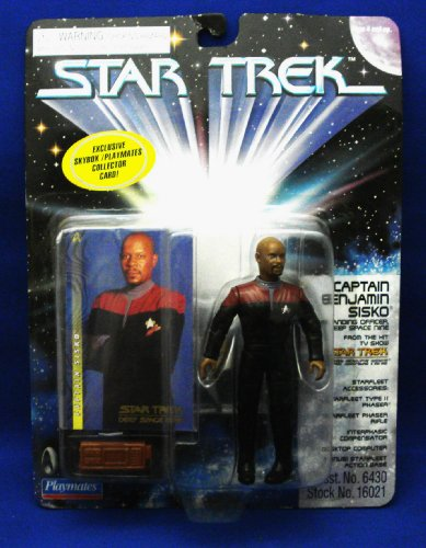 Star Trek Series 4 Captain Benjamin Sisko Action Figure