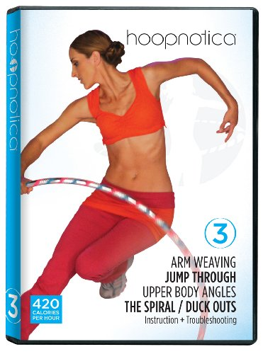 Hoopnotica Fitness Hoopdance Hula Hoop  DVD Level 3 (Intermediate)