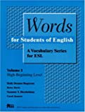 img - for Words for Students of English: A Vocabulary Series for ESL, Vol. 1 (Pitt Series in English As a Second Language) book / textbook / text book