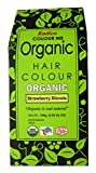 RADICO-ACE-100 %ORGANIC HAIR COLOUR - STRAWBERRY BLONDE COLOUR-MADE WITH HERBS-USDA ORGANIC CERTIFIED (NO AMMONIA,NO PEROXIDE,NO PPD)