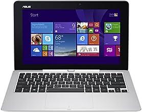 """Asus Transformer Book  T200TA-CP016H PC portable 2-en-1 11,6"""" Argent (Intel Atom, 4 Go de RAM, Disque dur 500 Go + EMMC 32 Go , Mise à jour Windows 10 gratuite)"""