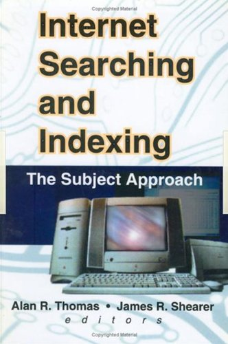Internet Searching and Indexing: The Subject Approach