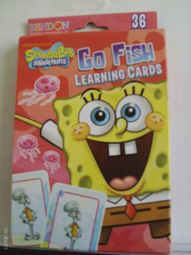 SpongeBob Squarepants Go Fish Learning Cards