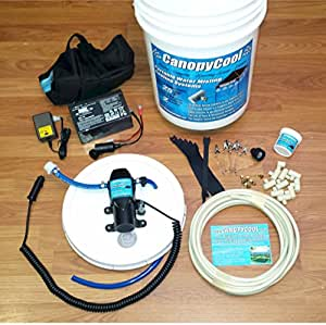 Amazon Com Canopy Cool 12volt Portable Water Misting