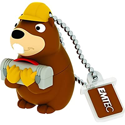Emtec Animalitos 2.0 USB Flash Drive (ECMMD8GM338)
