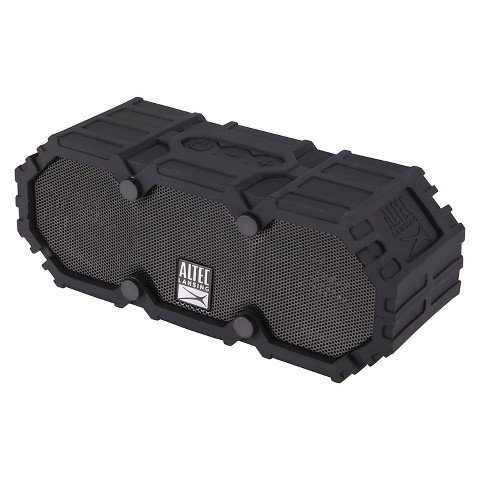 Altec Lansing - Mini Life Jacket Portable Bluetooth Speaker - Black