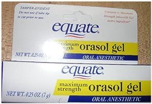 Equate Maximum Strength Orasol Gel .25 oz