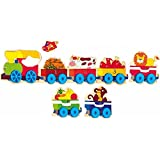 Woodyland Happy Engine with Cars Big Puzzle (14-Piece)