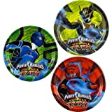 Power Rangers Jungle Fury 7 Dessert Plates Asst.  8 count