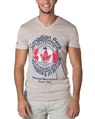 CANADIAN PEAK T-Shirt Manica Corta Japple [Beige]