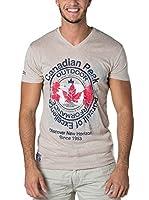 CANADIAN PEAK Camiseta Manga Corta Japple (Beige)
