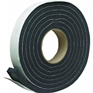 Thermwell Products Co. R516HDB Sponge Rubber Weatherstrip Tape