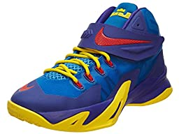 Nike Zoom Soldier VIII (GS) Big Kid Basketball Shoes 653645 400, 6