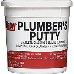 Oatey Plumber\'s Putty - 5lbs (80oz total)
