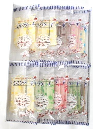 おしどり  日本製乳 おしどりミルクケ-キ 8種類詰合計50本