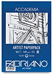 Fabriano Accademia Drawing Artists Paperpack 200 GSM A3 (Pack of 50)