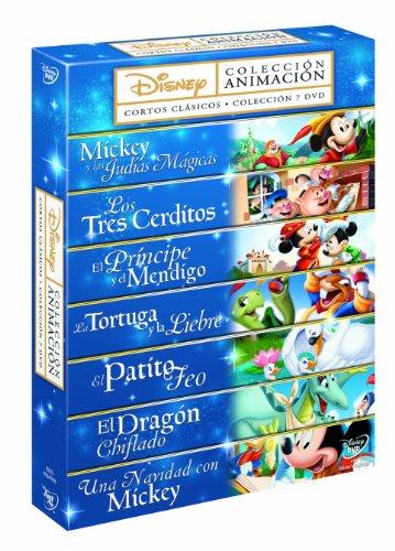ウォルト・ディズニー コレクション DVD-BOX (7作品, 436分) Disney ミッキーマウス [DVD] [Import] [PAL, 再生環境をご確認ください]